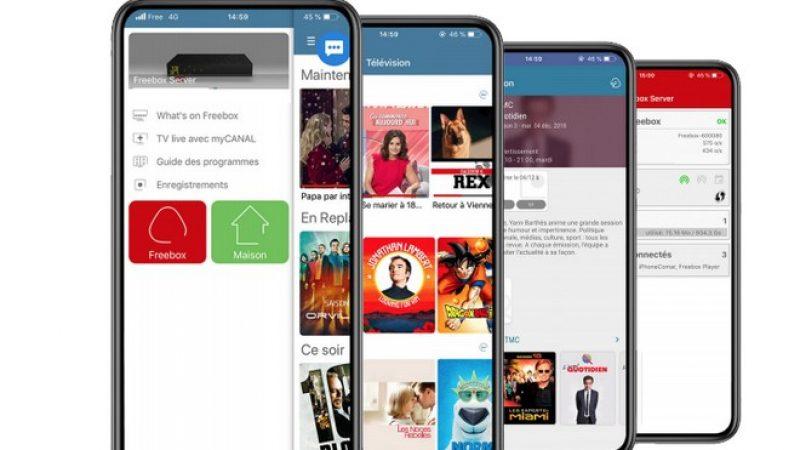 Application Freebox sur iOS : nouvelle mise à jour de la version bêta avec quelques améliorations et corrections