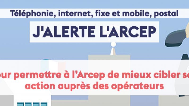Lancement d'une plateforme d'alerte pour inciter Orange, Free, SFR et Bouygues à améliorer leurs services