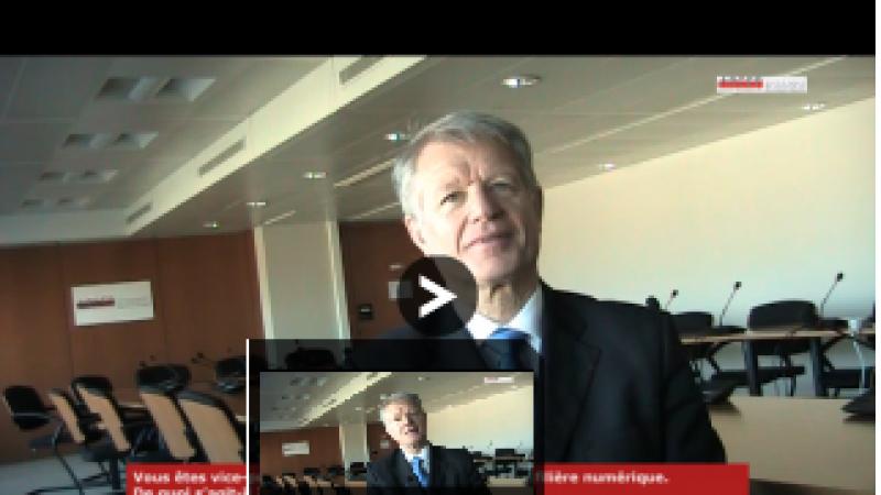 """Guy Roussel (V.P. du Comité Stratégie de la filière numérique): """" On a trop écouté Bruxelles"""""""