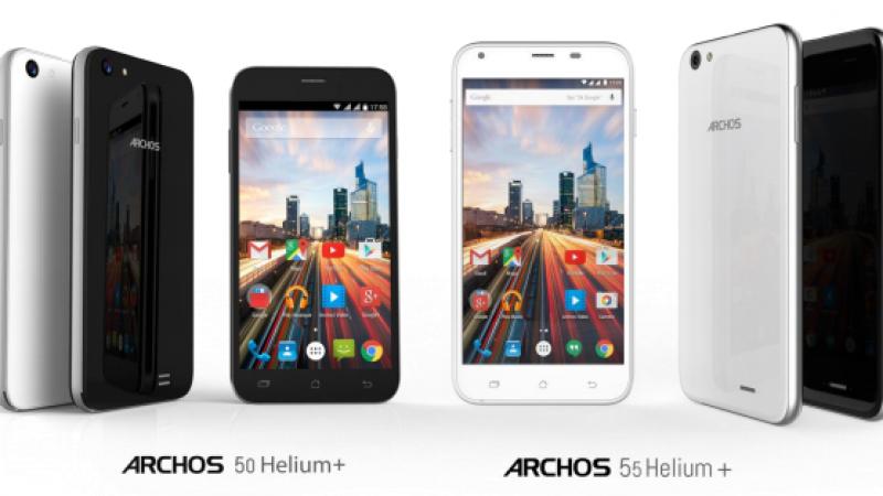 Le français Archos présente ses nouveaux smartphones low cost HD et 4G