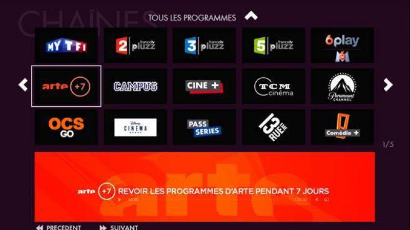 Canalsat : 68 services de Replay disponibles avec l'arrivée d'Arte +7
