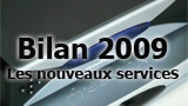 Bilan des nouveaux services intégrés à la Freebox en 2009