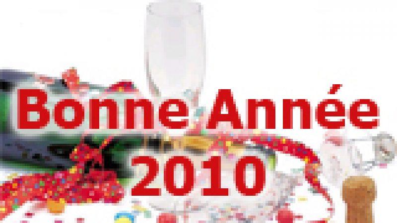 Univers Freebox vous souhaite une bonne et heureuse année 2010 !