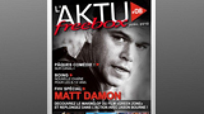 Le magazine d'avril des abonnés Free, Aktu Freebox, est sorti