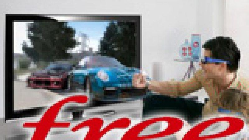 Free lance 4 chaînes 3D et 2 services VOD 3D en exclusivité !
