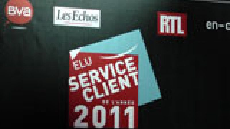 Free élu service client de l'année 2011