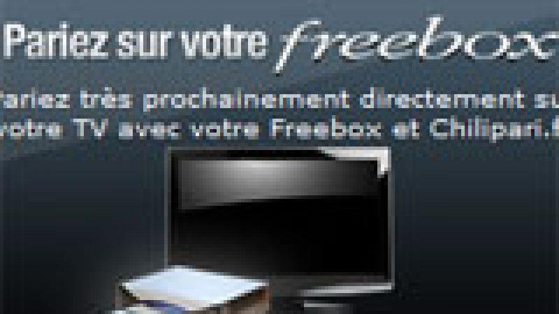 Un nouveau service de paris va être lancé sur la Freebox