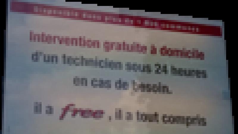 Free recherche un technicien itinérant sur Paris
