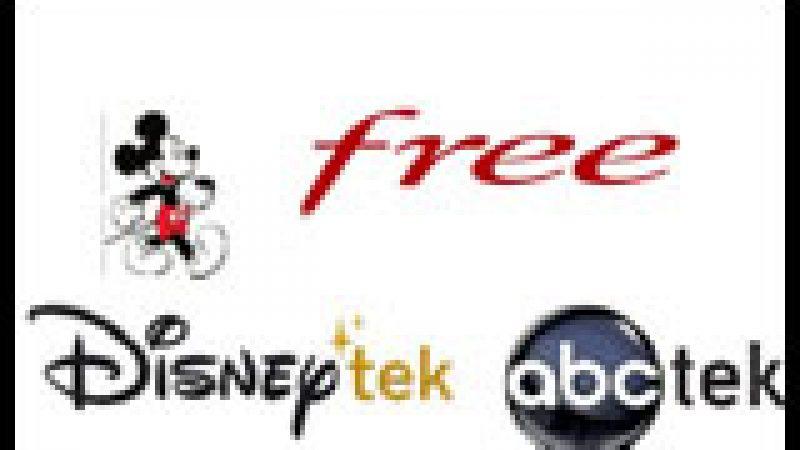Free accueille en exclusivité les 1eres vidéothèques Disney sur Freebox TV