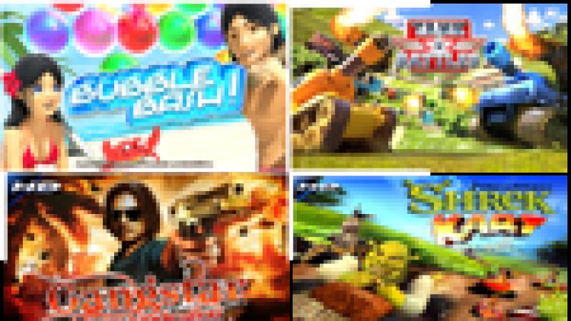 6 nouveaux jeux HD disponibles d'ici l'été 2011 sur Freebox Révolution