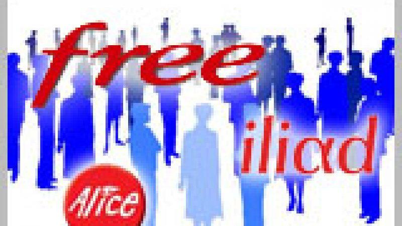 Recrutements : Meilleur trimestre pour Free depuis 4 ans avec 154 000 nouveaux abonnés