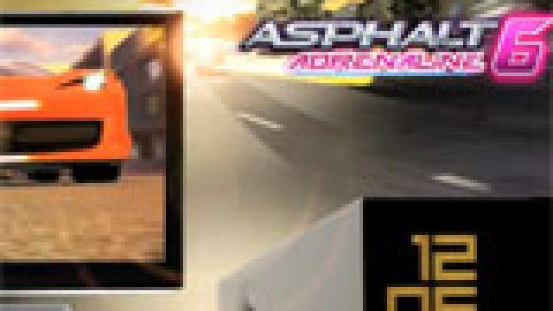 Découvrez le trailer spécial Freebox Révolution d'Asphalt 6 : Adrenaline