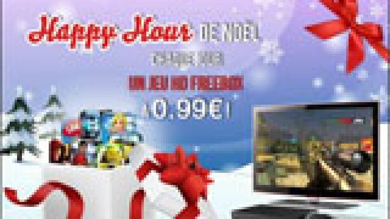 Happy Hour de Noël sur le Freestore : Un jeu à 0.99€ chaque jour !