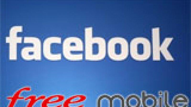 Lancement du compte Facebook officiel de Free Mobile