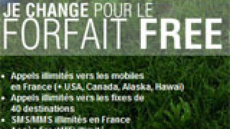Free Mobile : Il est désormais possible de migrer d'un forfait 2€ vers l'illimité