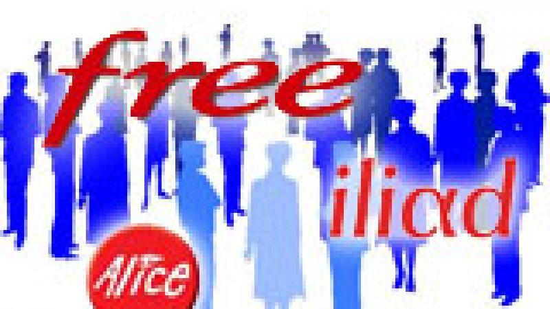 Iliad/Free, numéro 1 sur les recrutements haut débit au 2ème trimestre