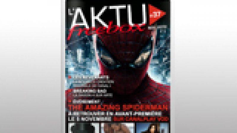 Le magazine Aktu Freebox de novembre est disponible