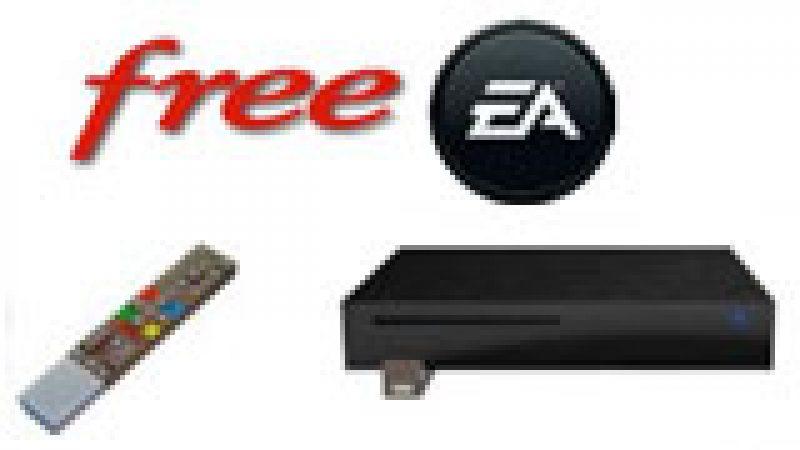 Free annonce l'arrivée des jeux  d'Electronic Arts sur la Freebox !