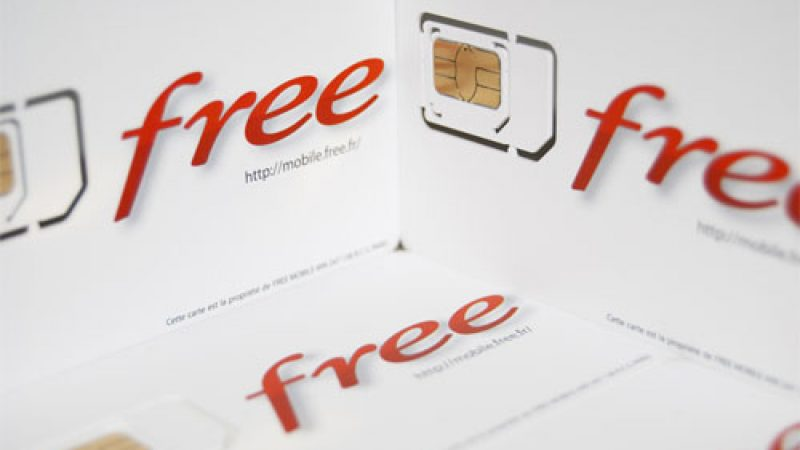 Vos cartes SIM Free Mobile insolites !