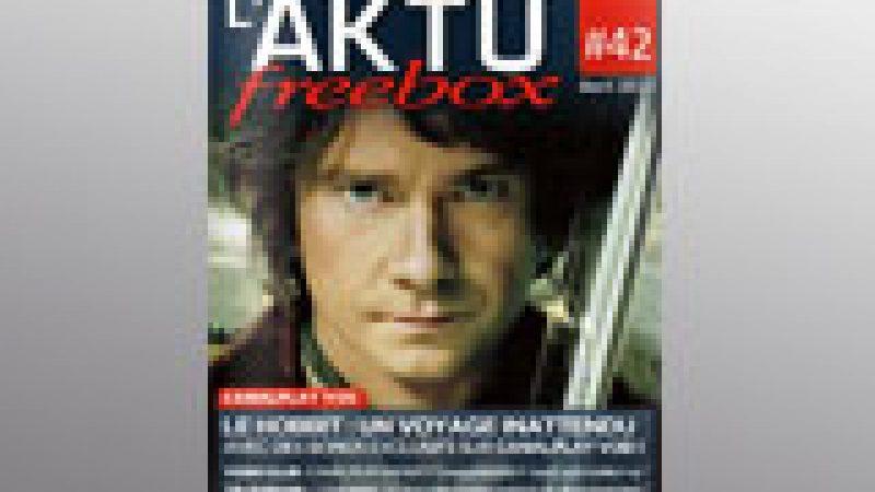 Découvrez l'Aktu Freebox d'avril