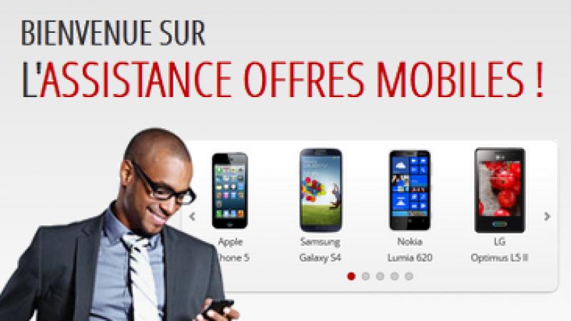 Nouvelle interface pour l'assistance Free Mobile