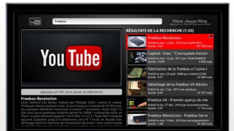Free : Une nette amélioration sur YouTube ?