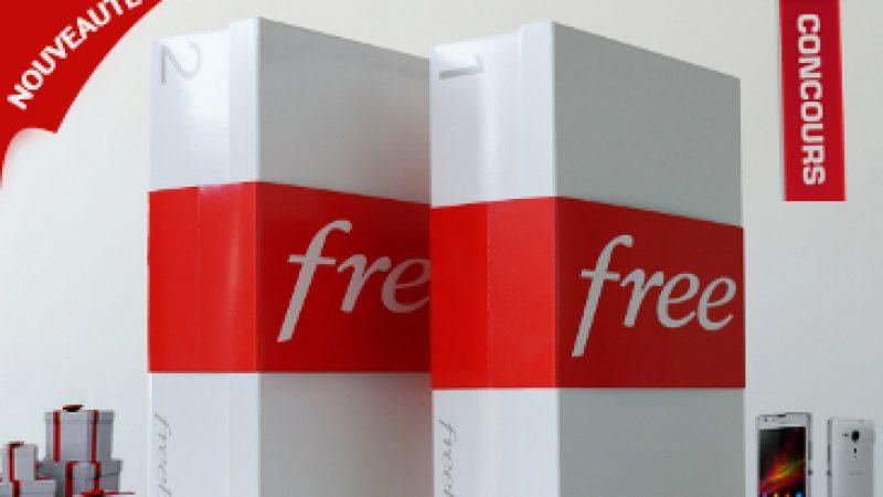 Les nouveautés de la semaine chez Free : Des cadeaux et une boîte de « Crystal »