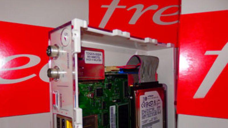 Exclu : découvrez l'intérieur du Boitier TV de la Freebox Crystal