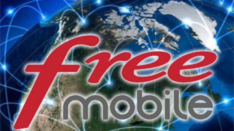 Roaming : Free Mobile baisse ses prix sur près de 200 destinations (voix, SMS, MMS et data) !
