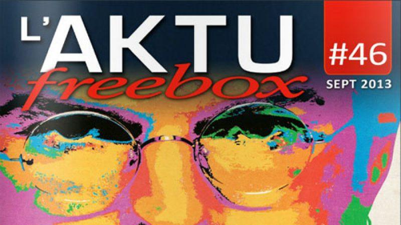 Découvrez l'Aktu Freebox de septembre et les nouvelles chaînes du mois