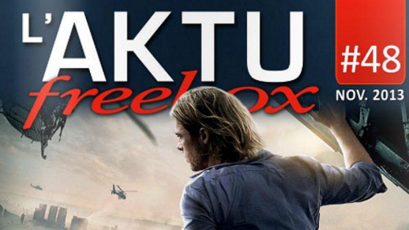 L'Aktu Freebox du mois de novembre est sorti