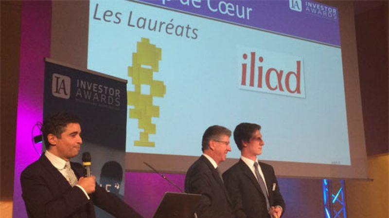 Iliad récompensée lors de la cérémonie des Investor Awards