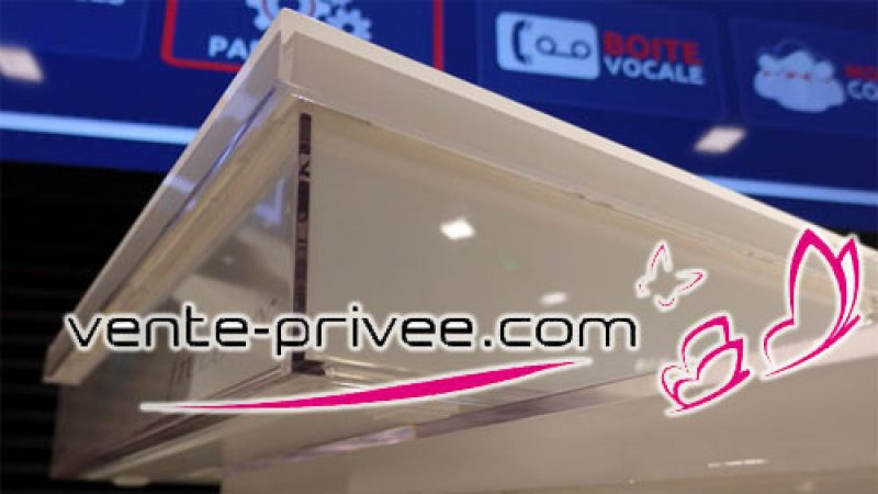 L'offre Vente Privée de Free proposera la Freebox Crystal à 1,99€/mois