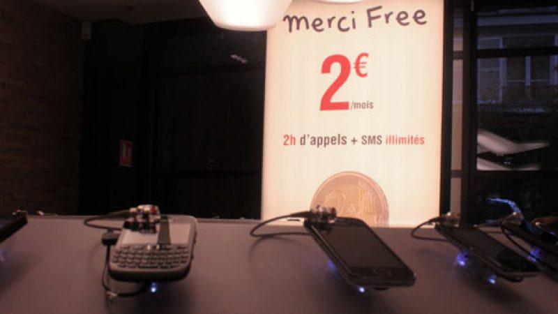 Free Mobile annonce qu'il inclut la 4G, les MMS et de la data dans son forfait 2 euros