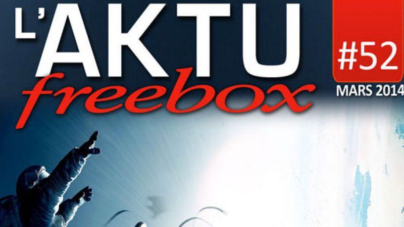 Découvrez l'aktu Freebox de mars qui vient de paraitre