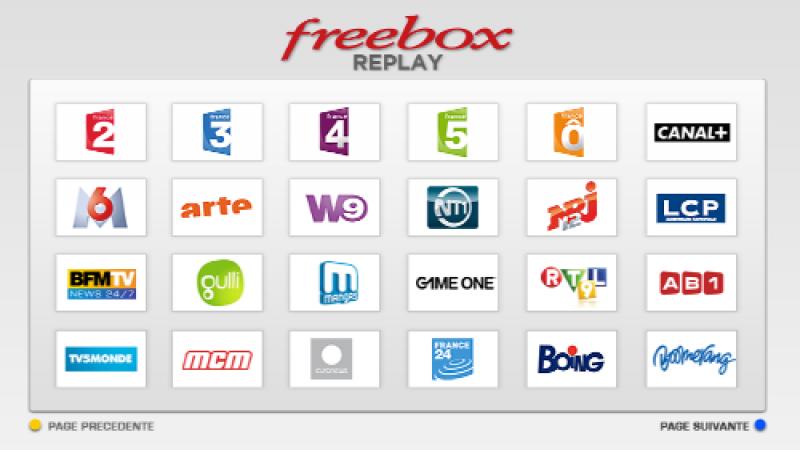Freebox Replay : Free ajoute 3 nouvelles chaînes