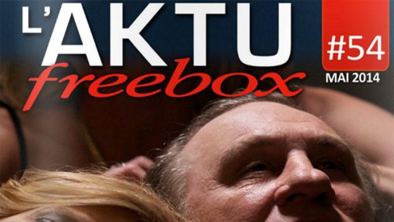 Découvrez l'Aktu Freebox de mai : une nouvelle chaîne, une chaîne offerte, etc.