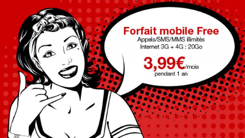 Vente privée : à vos marques, prêts ? Le forfait Illimité Free Mobile à 3,99€/mois !