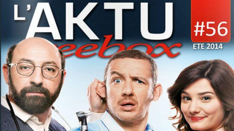 Découvrez l'AKTU Freebox de l'été 2014