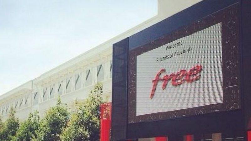 Xavier Niel au siège de Facebook : Welcome Free
