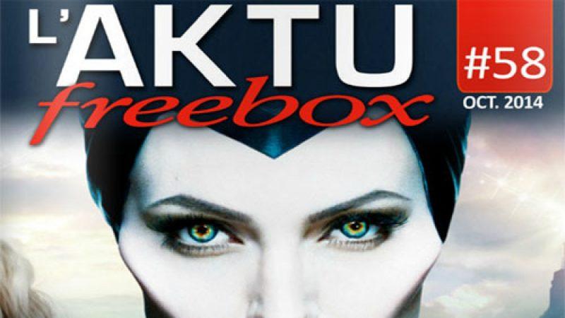 Découvrez l'AKTU Freebox d'octobre, et toutes les chaînes offertes ce mois-ci