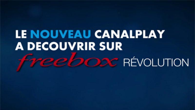 CanalPlay lance une nouvelle interface en avant-première sur la Freebox