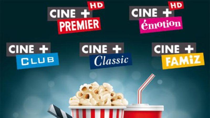 Les chaînes Ciné+ offertes en novembre sur Freebox TV !