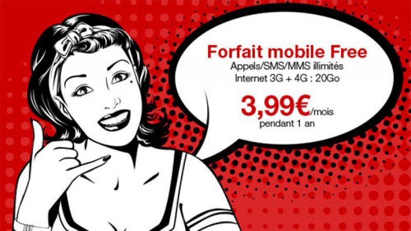 Free ajoute encore quelques jours pour bénéficier de son forfait mobile à 3,99€