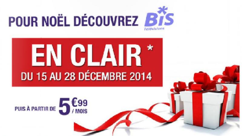 [MàJ] Les 10 chaînes  du groupe Bis en clair pour Noël : c'est parti sur la Freebox Révolution et sur la Crystal !