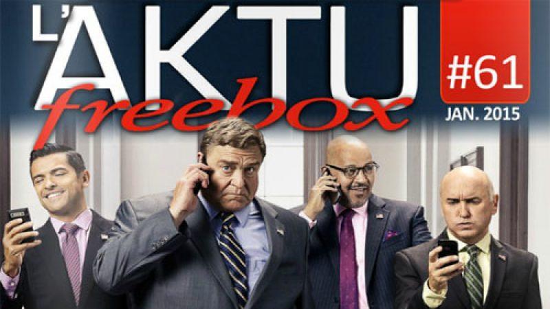 AKTU Freebox n° 61: Découvrez toute l'actualité de Freebox TV en janvier