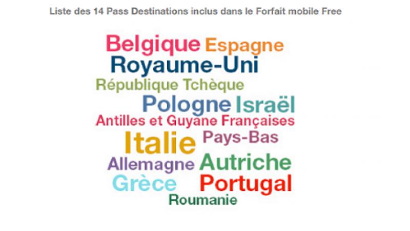 Free Mobile : le roaming depuis la Belgique inclus