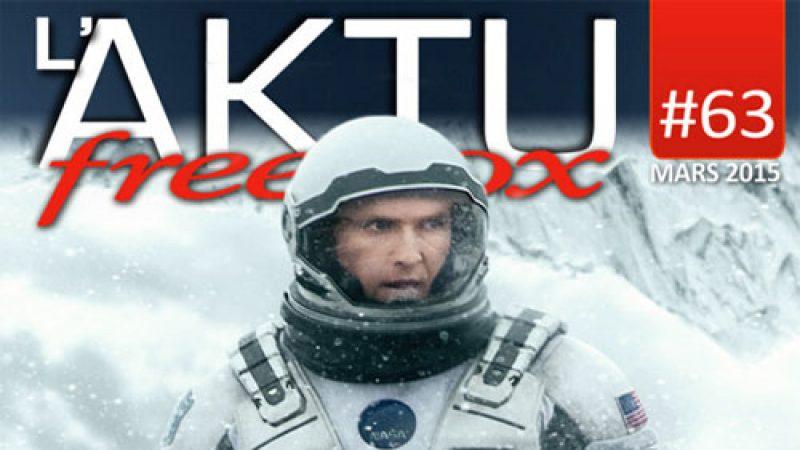 Toute l'actualité de Freebox TV de mars disponible dans le nouvel AKTU Freebox