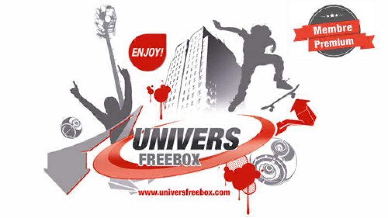Univers Freebox lance les comptes premium et une version sans publicité