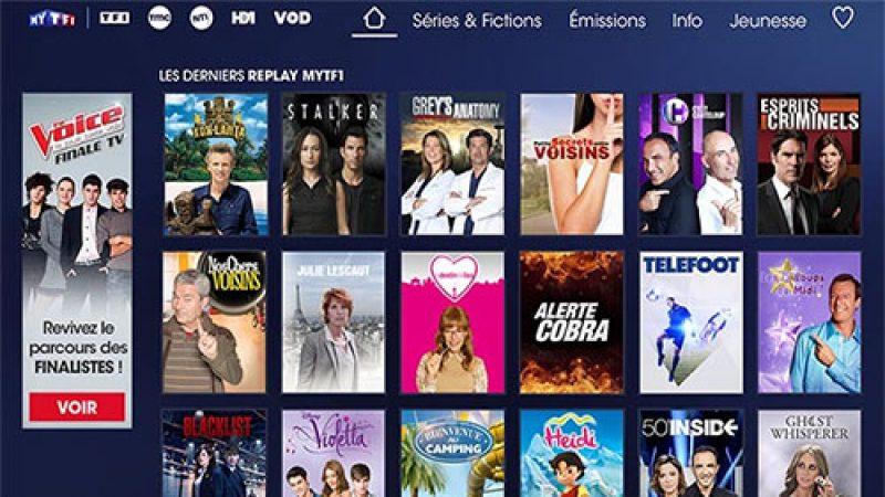 Freebox : arrivée des services de replay de TMC, NT1 et HD1 et du nouveau MYTF1